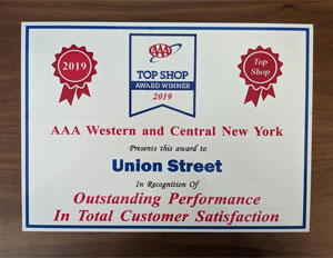 AAA Top Shop in Western and Central New York 2019